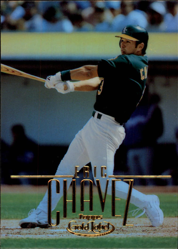 2002 Topps Gold Label #37 Eric Chavez