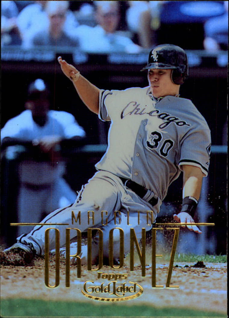 2002 Topps Gold Label #40 Magglio Ordonez