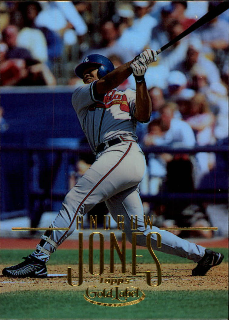 2002 Topps Gold Label #52 Andruw Jones front image