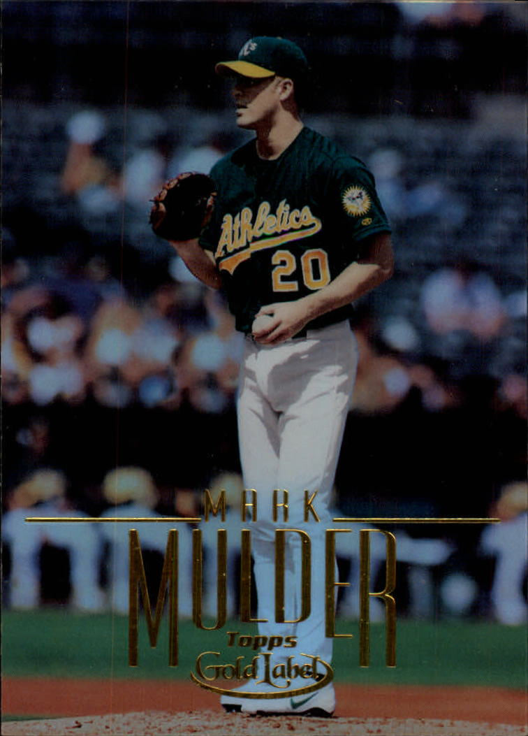 2002 Topps Gold Label #63 Mark Mulder front image