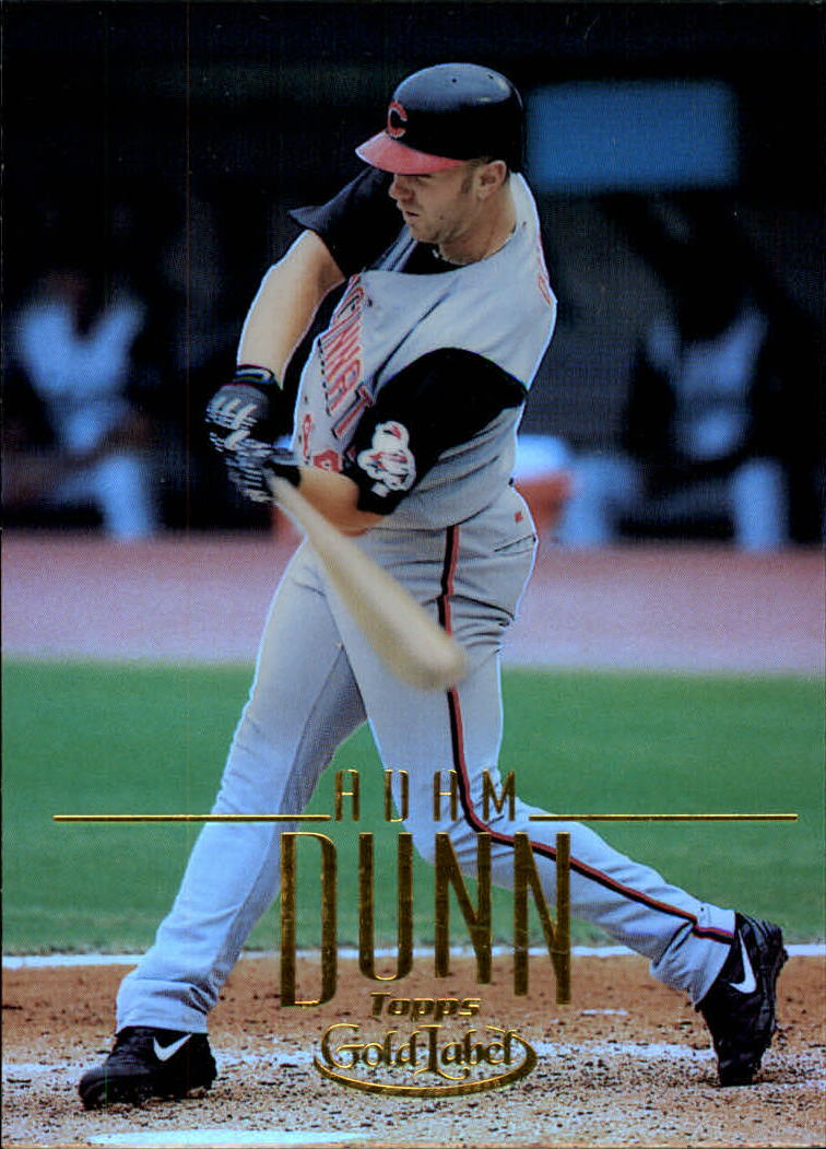 2002 Topps Gold Label #65 Adam Dunn
