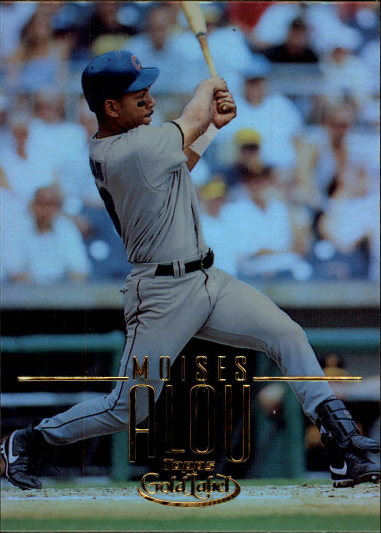 2002 Topps Gold Label #66 Moises Alou