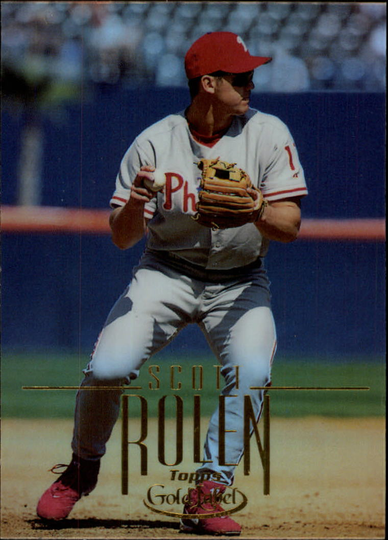 2002 Topps Gold Label #79 Scott Rolen