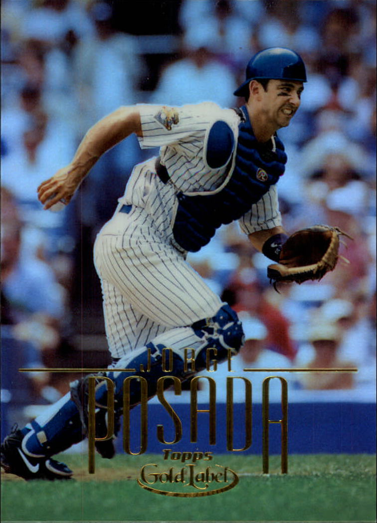 2002 Topps Gold Label #95 Jorge Posada