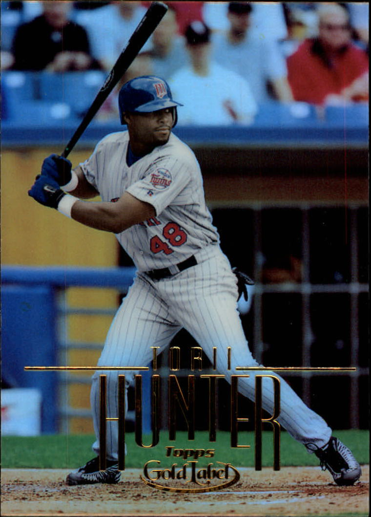 2002 Topps Gold Label #102 Torii Hunter