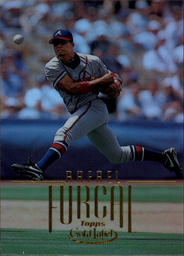 2002 Topps Gold Label #109 Rafael Furcal