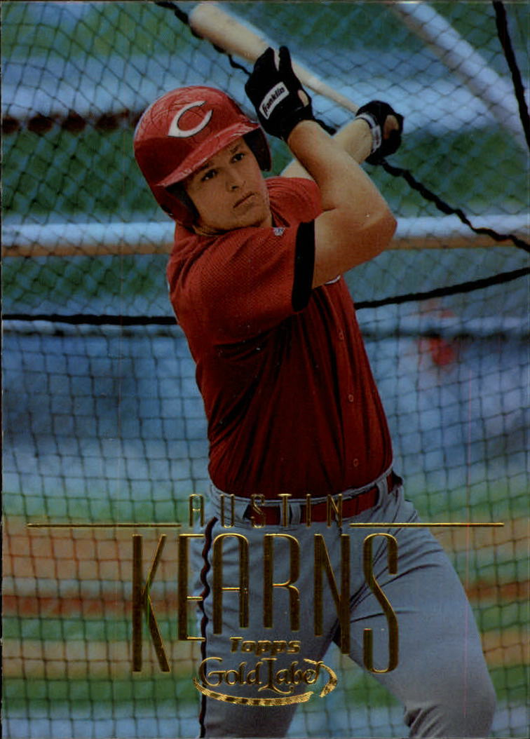 2002 Topps Gold Label #199 Austin Kearns