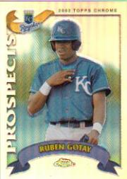 2002 Topps Chrome Traded Refractors #T138 Ruben Gotay