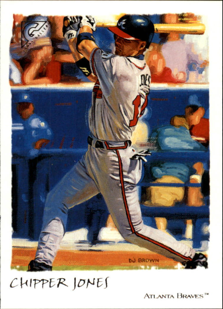 2002 Topps Gallery #23 Chipper Jones