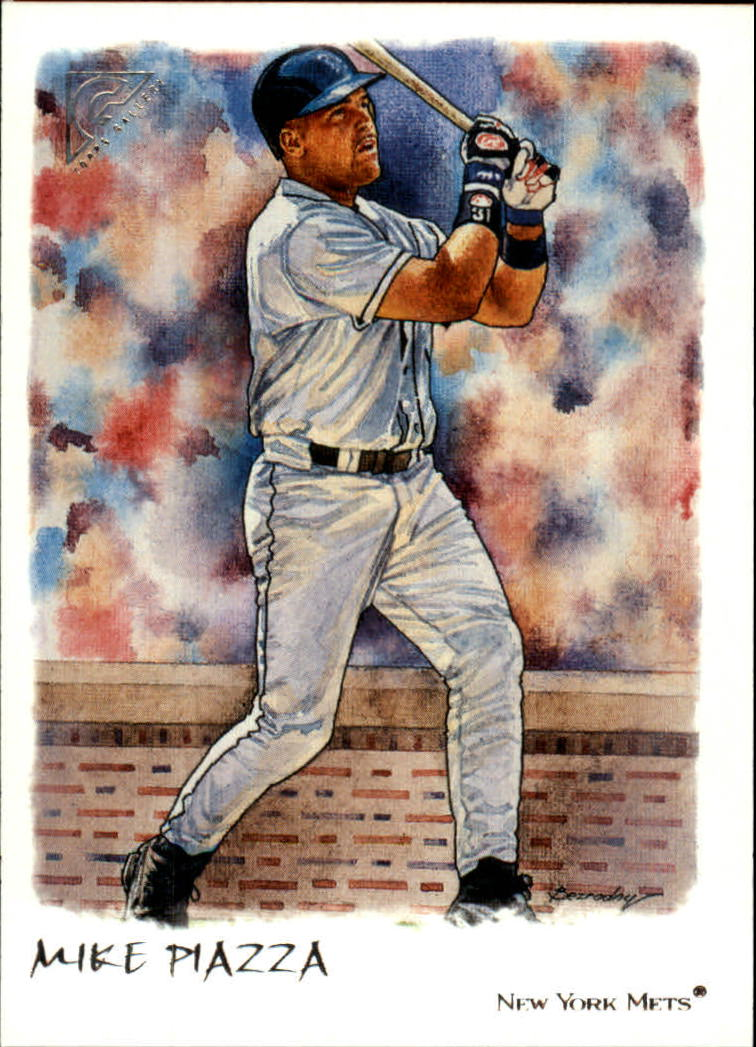 2002 Topps Gallery #25 Mike Piazza