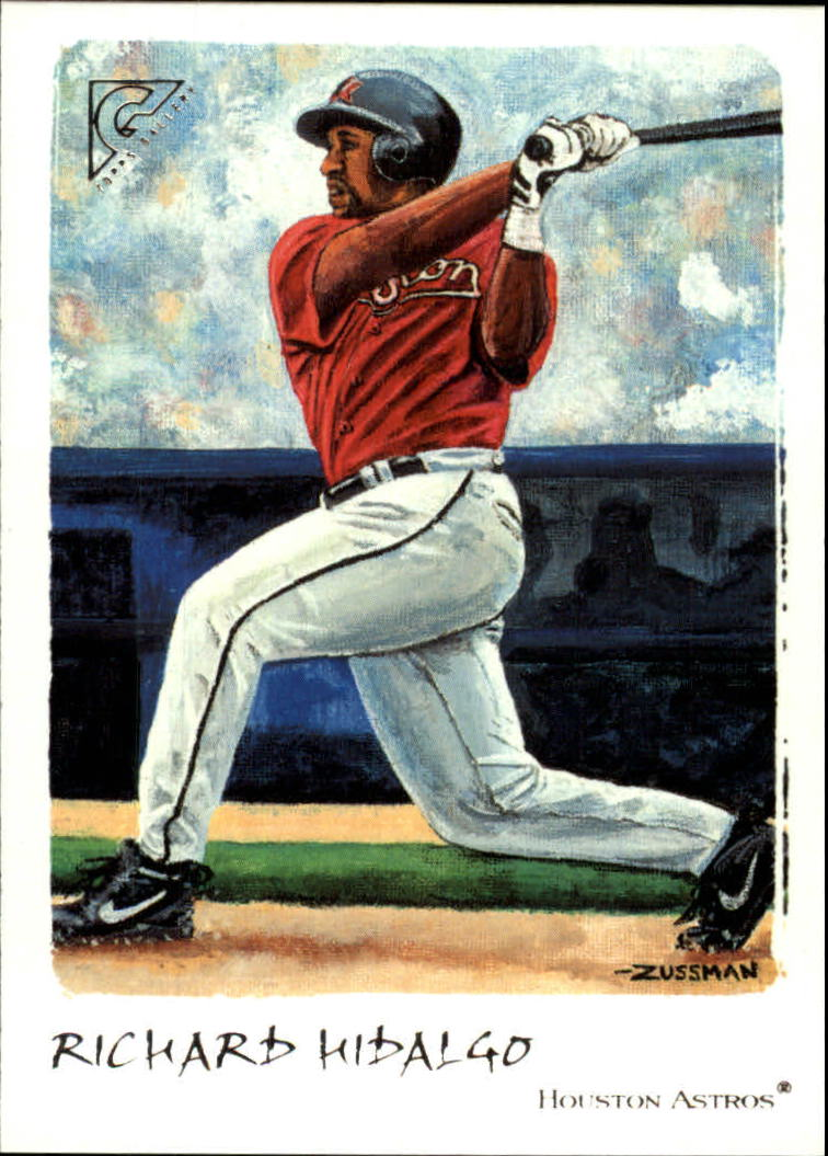 2002 Topps Gallery #39 Richard Hidalgo