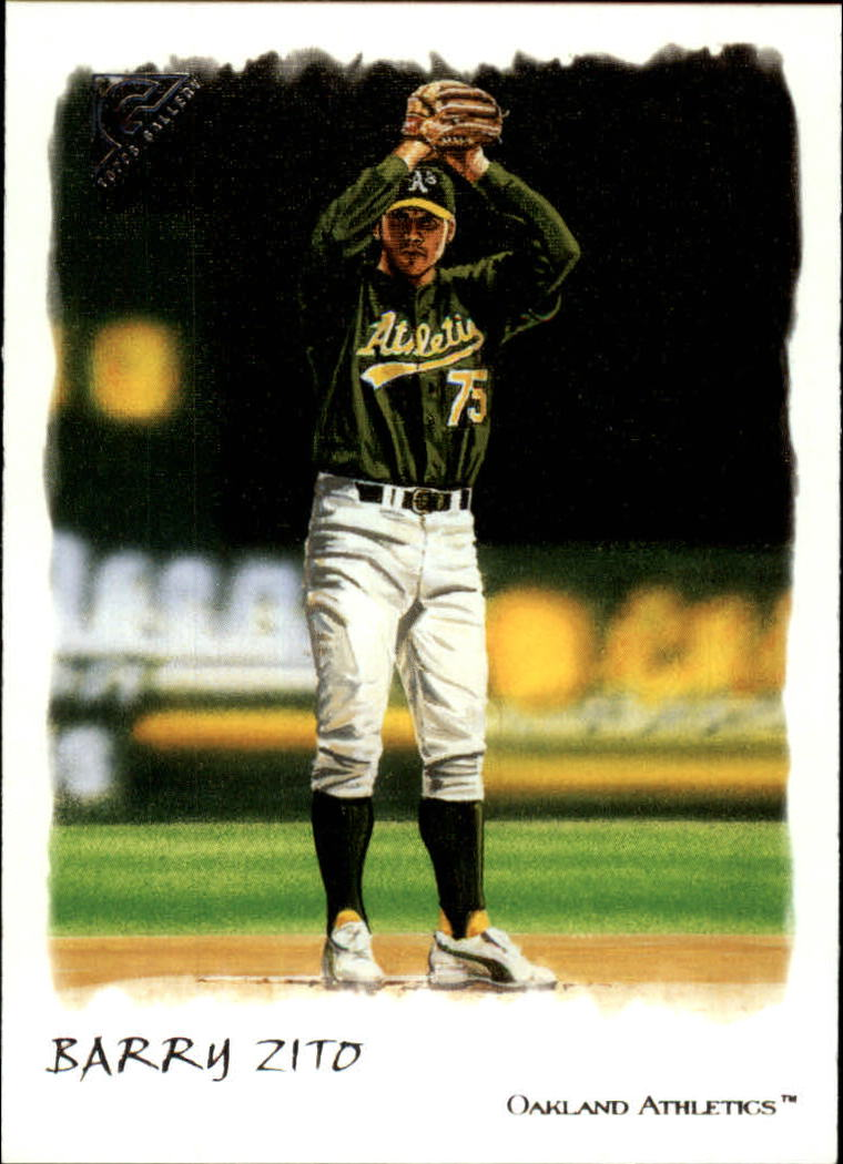 2002 Topps Gallery #45 Barry Zito