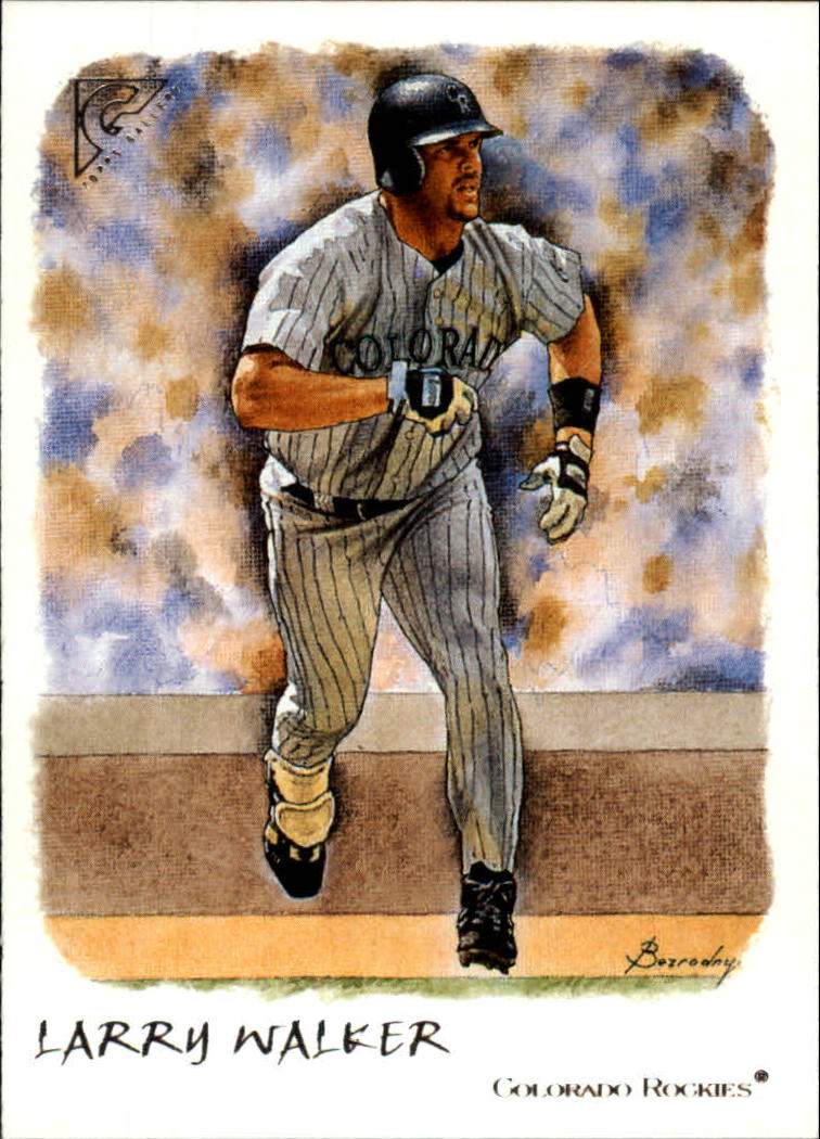 2002 Topps Gallery #86 Larry Walker