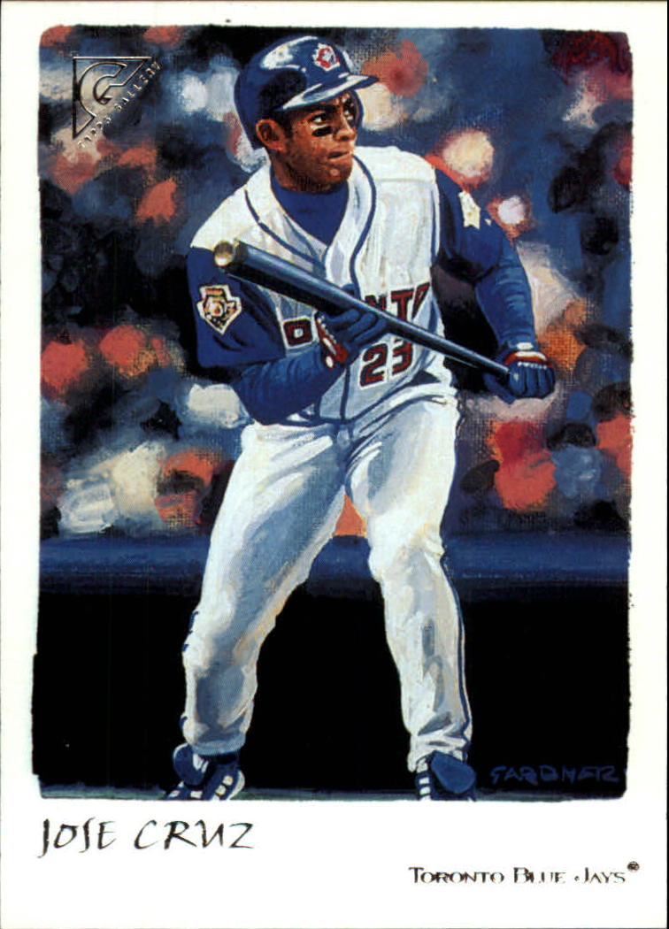 2002 Topps Gallery #99 Jose Cruz Jr.