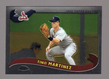 2002 Topps Chrome #525 Tino Martinez
