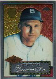 2002 Topps Chrome 1952 Reprints #52R11 Preacher Roe front image