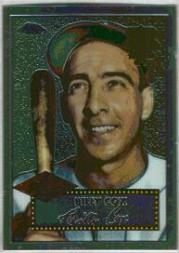 2002 Topps Chrome 1952 Reprints #52R13 Billy Cox front image