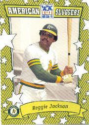 2002 Topps American Pie Sluggers Gold #5 Reggie Jackson