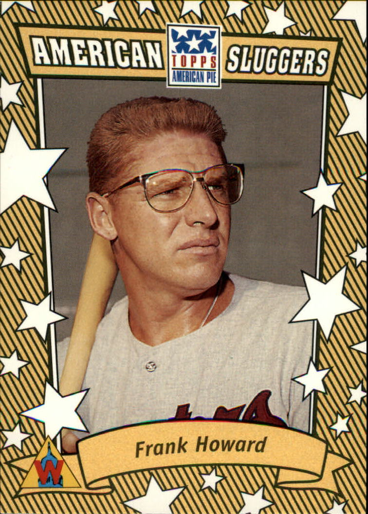 2002 Topps American Pie Sluggers Gold #20 Frank Howard
