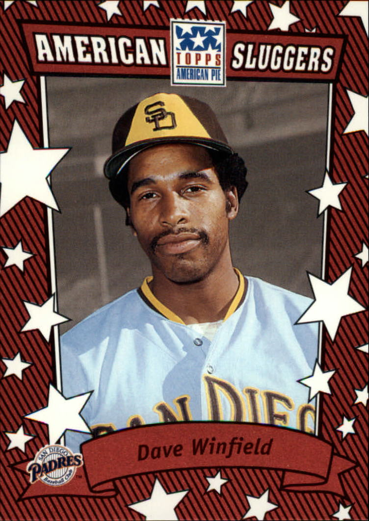 2002 Topps American Pie Sluggers Red #11 Dave Winfield