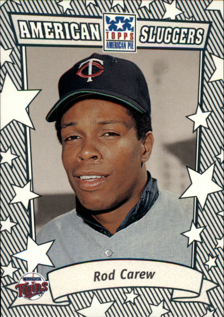 2002 Topps American Pie Sluggers Silver #1 Rod Carew