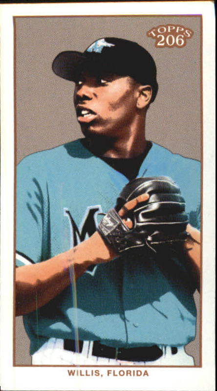 2002 Topps 206 Sweet Caporal Blue #415 Dontrelle Willis PROS
