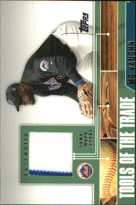 2002 Topps Traded Tools of the Trade Relics #MVB Mo Vaughn Bat C