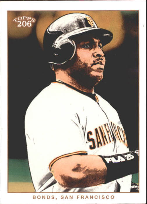 2002 Topps 206 #34 Barry Bonds