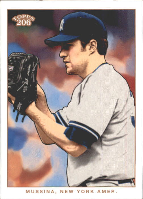 2002 Topps 206 #67 Mike Mussina