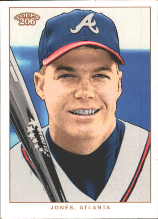 2002 Topps 206 #78 Chipper Jones