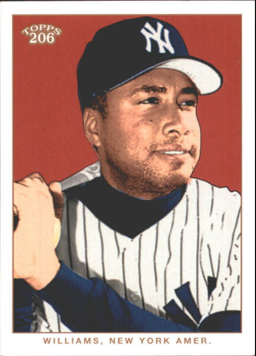 2002 Topps 206 #79 Bernie Williams
