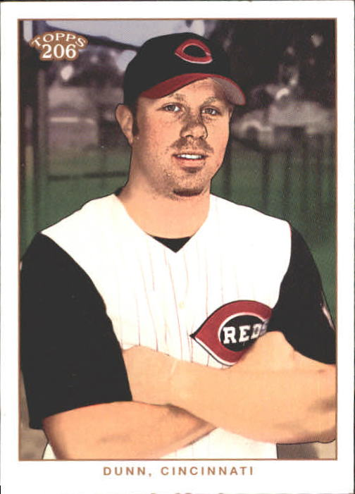 2002 Topps 206 #187A Adam Dunn Arms Folded