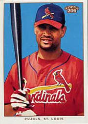 2002 Topps 206 #200C Albert Pujols w/Bat