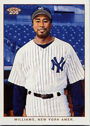 2002 Topps 206 #219B Bernie Williams w/o Bat