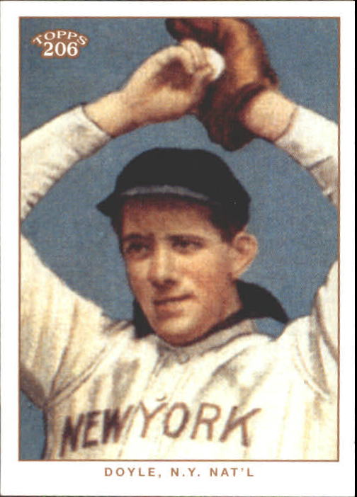 2002 Topps 206 #301A Joe Doyle NY REP