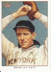 2002 Topps 206 #301B Joe Doyle NY Nat'l REP