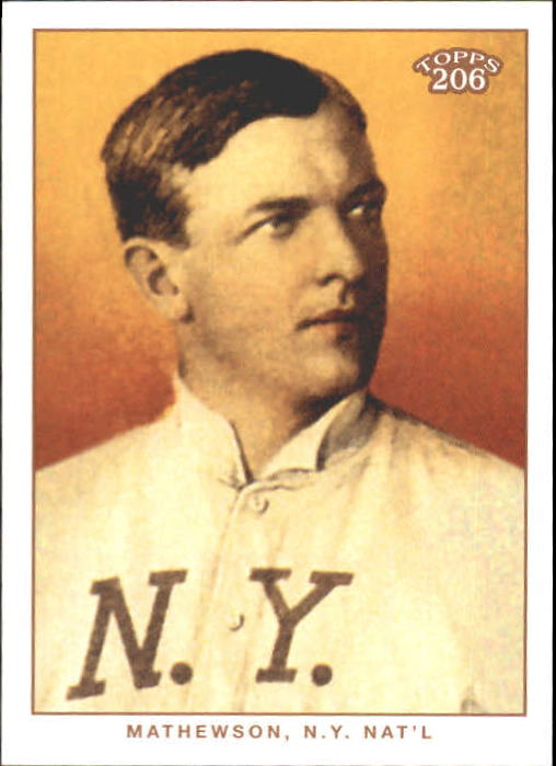 2002 Topps 206 #451 Christy Mathewson REP