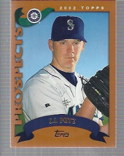2002 Topps Traded #T137 J.J. Putz RC