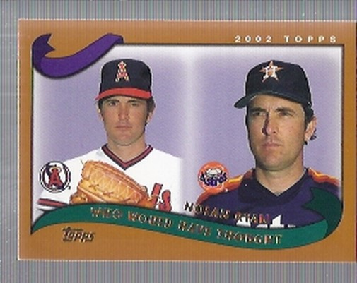 2002 Topps Traded #T266 Nolan Ryan WW front image