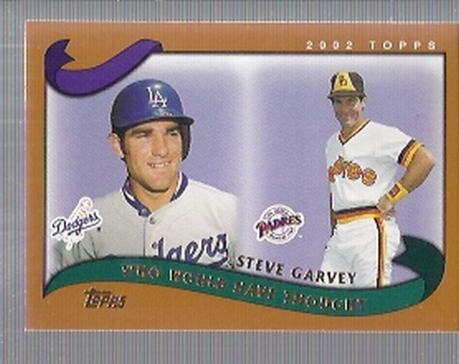 2002 Topps Traded #T268 Steve Garvey WW front image