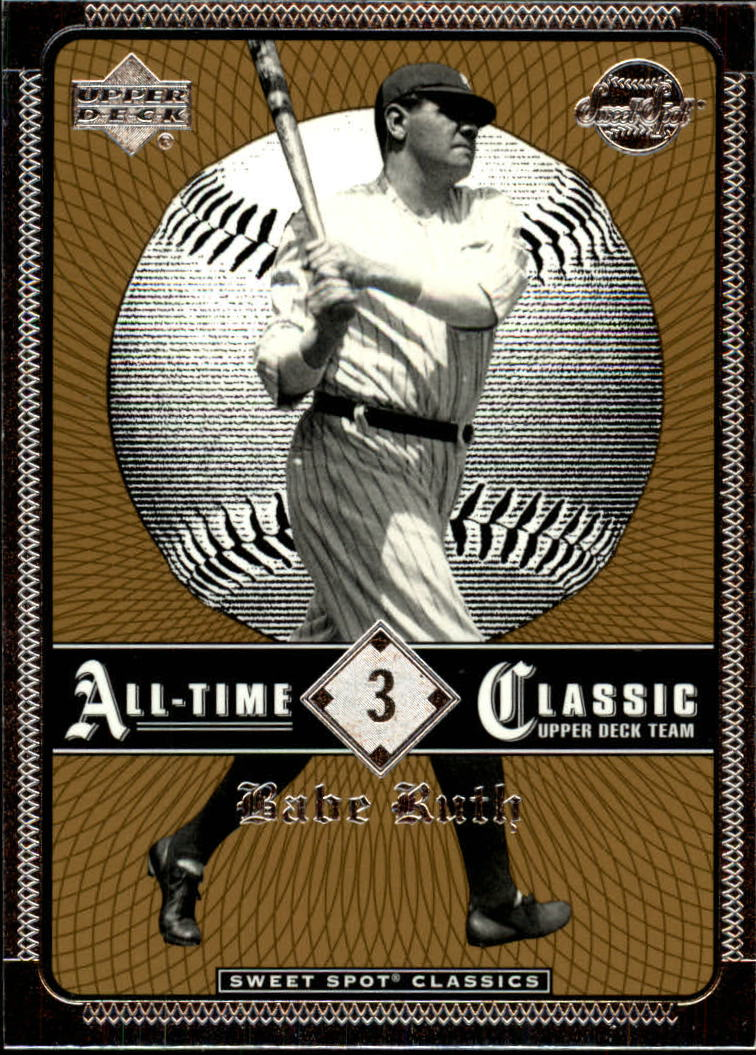 2002 Sweet Spot Classics #3 Babe Ruth