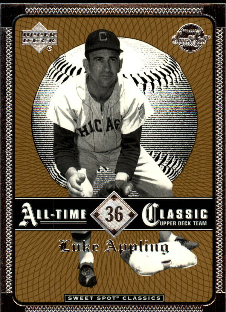 2002 Sweet Spot Classics #36 Luke Appling