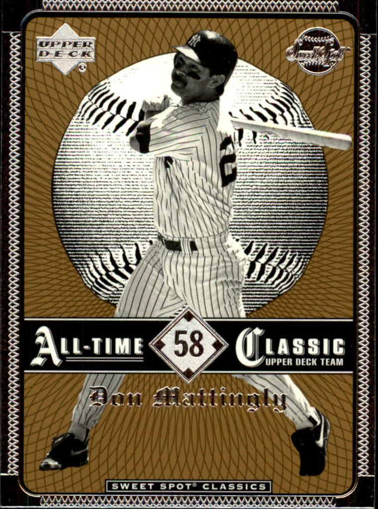 2002 Sweet Spot Classics #58 Don Mattingly