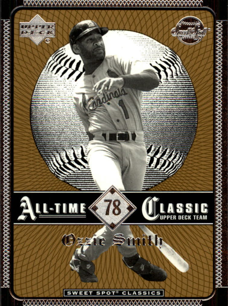 2002 Sweet Spot Classics #78 Ozzie Smith
