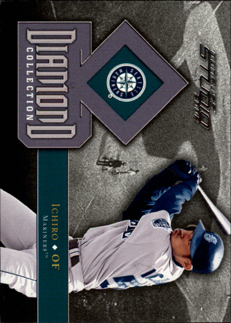2002 Studio Diamond Collection #9 Ichiro Suzuki