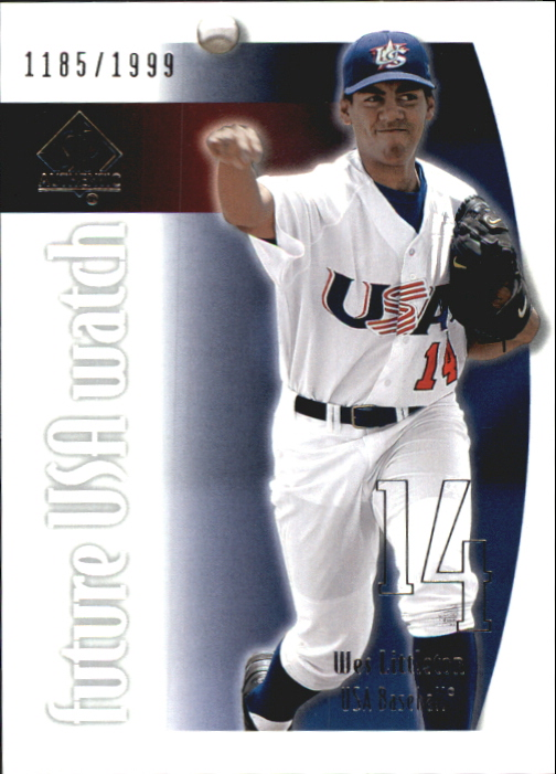 2002 SP Authentic USA Future Watch #USA4 Wes Littleton