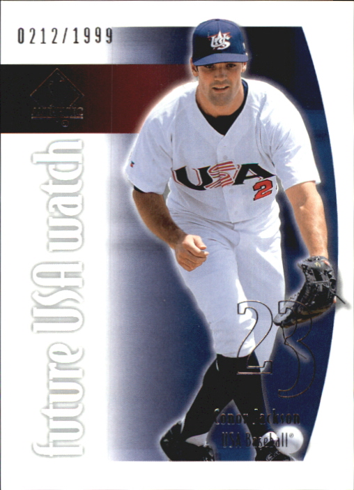 2002 SP Authentic USA Future Watch #USA15 Conor Jackson