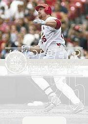 2002 SP Authentic Big Mac Missing Link #MM Mark McGwire 99
