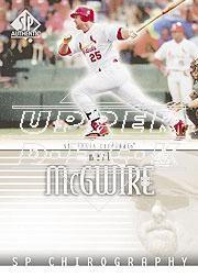 2002 SP Authentic Big Mac Missing Link #MAMC Mark McGwire 02