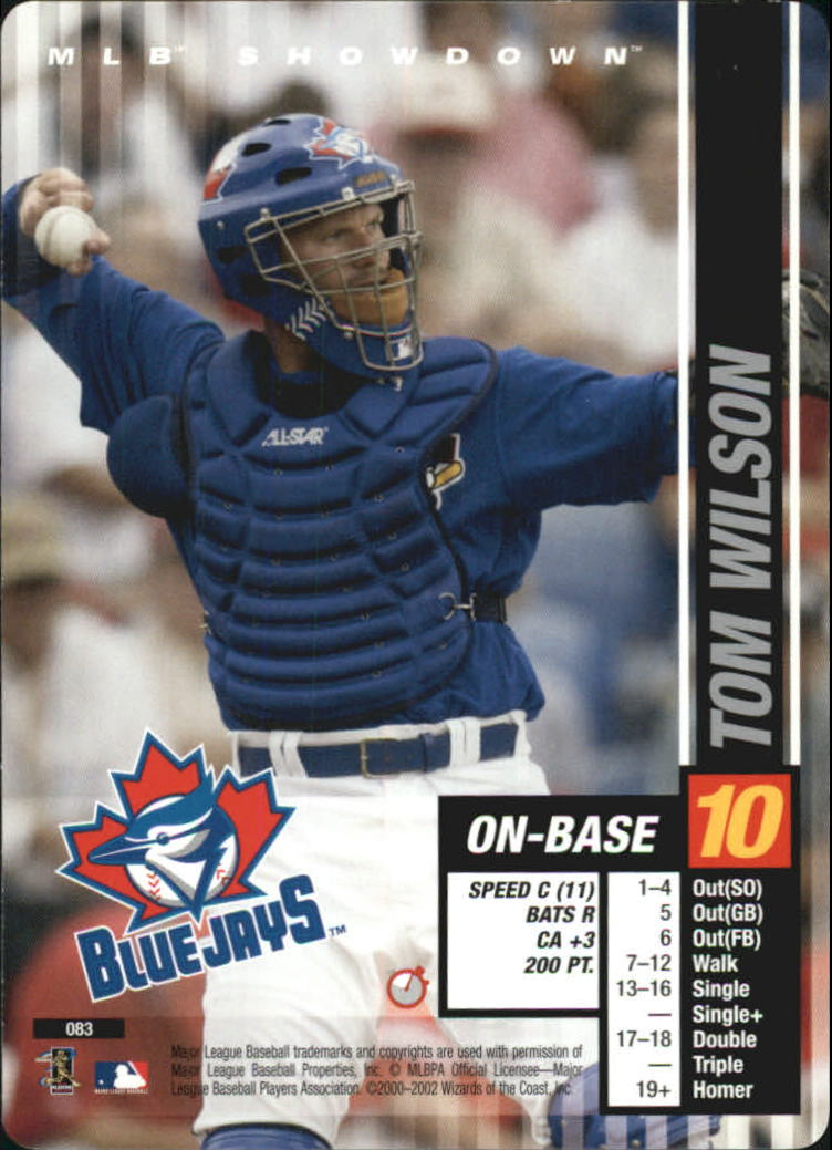 2002 MLB Showdown Trading Deadline #83 Tom Wilson RC